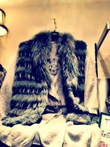 Unicorn fur vest