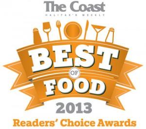The Coast Best of Food 2013