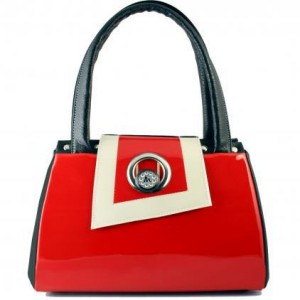 Red Michique Handbag