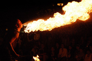 Busker's festival photo