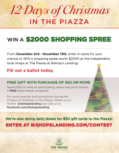 12 Days of Christmas in the Piazza 2013