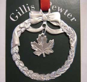 Gillis Pewter Ornament