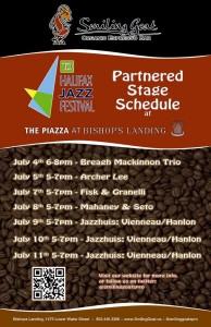 Smiling Goat Halifax Jazz Fest Parter Stage