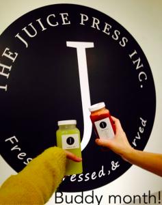 Buddy Month at Juice Press Inc