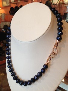 Pearl City Pearl Necklace Heart Clasp
