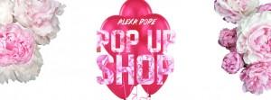 alexa pope pop up shop