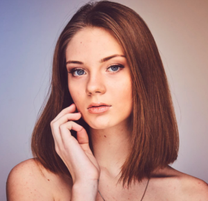 photo of woman with clear skin