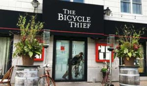 Entrance way of The Bicycle Thief